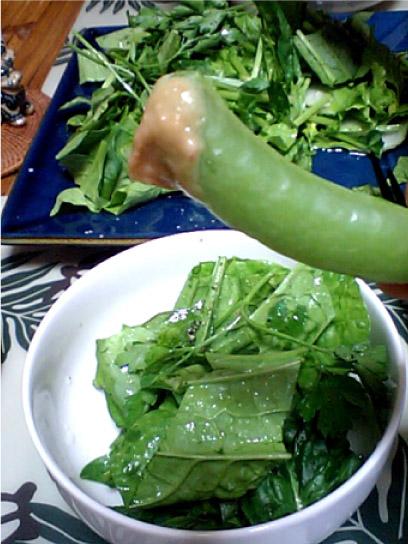 グリーンの食卓