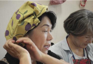 ふろしきの帽子