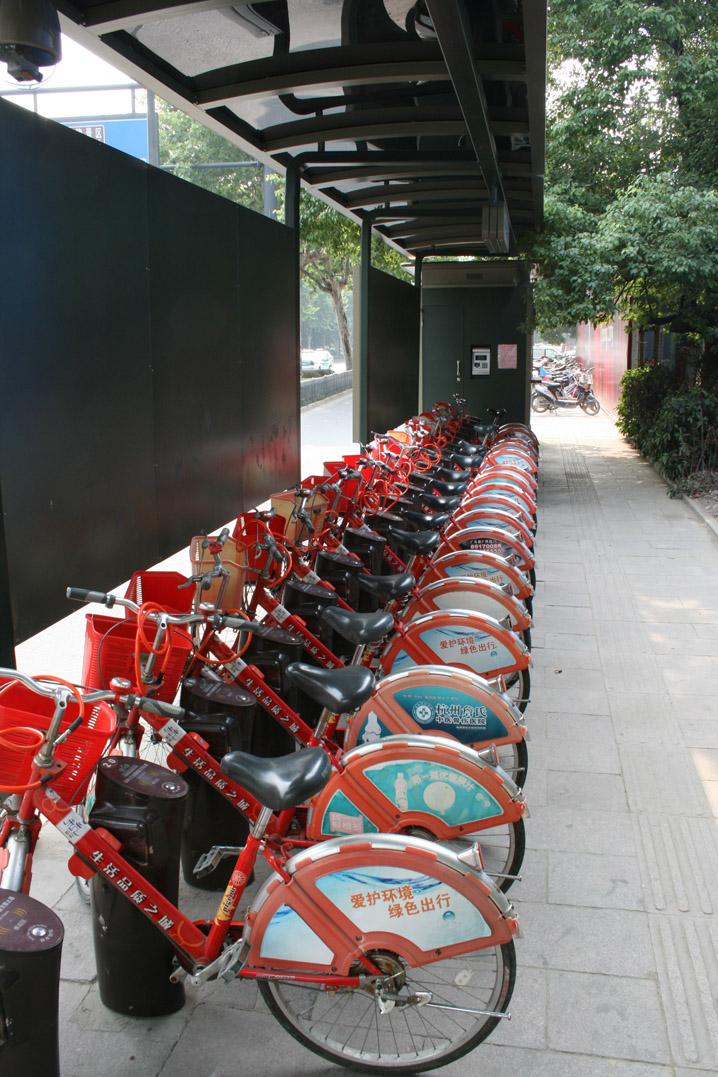 駐輪場(杭州)