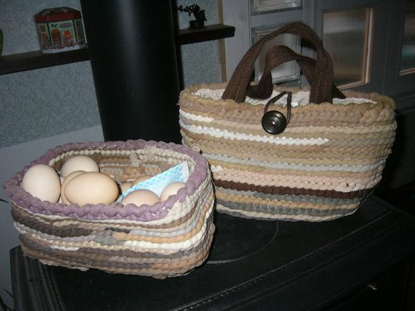 卵入れかご